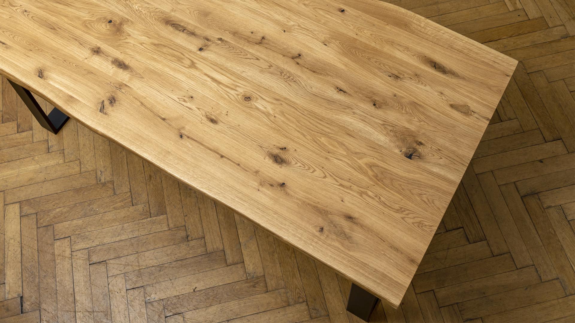 Stół dębowy inustrialny sklep