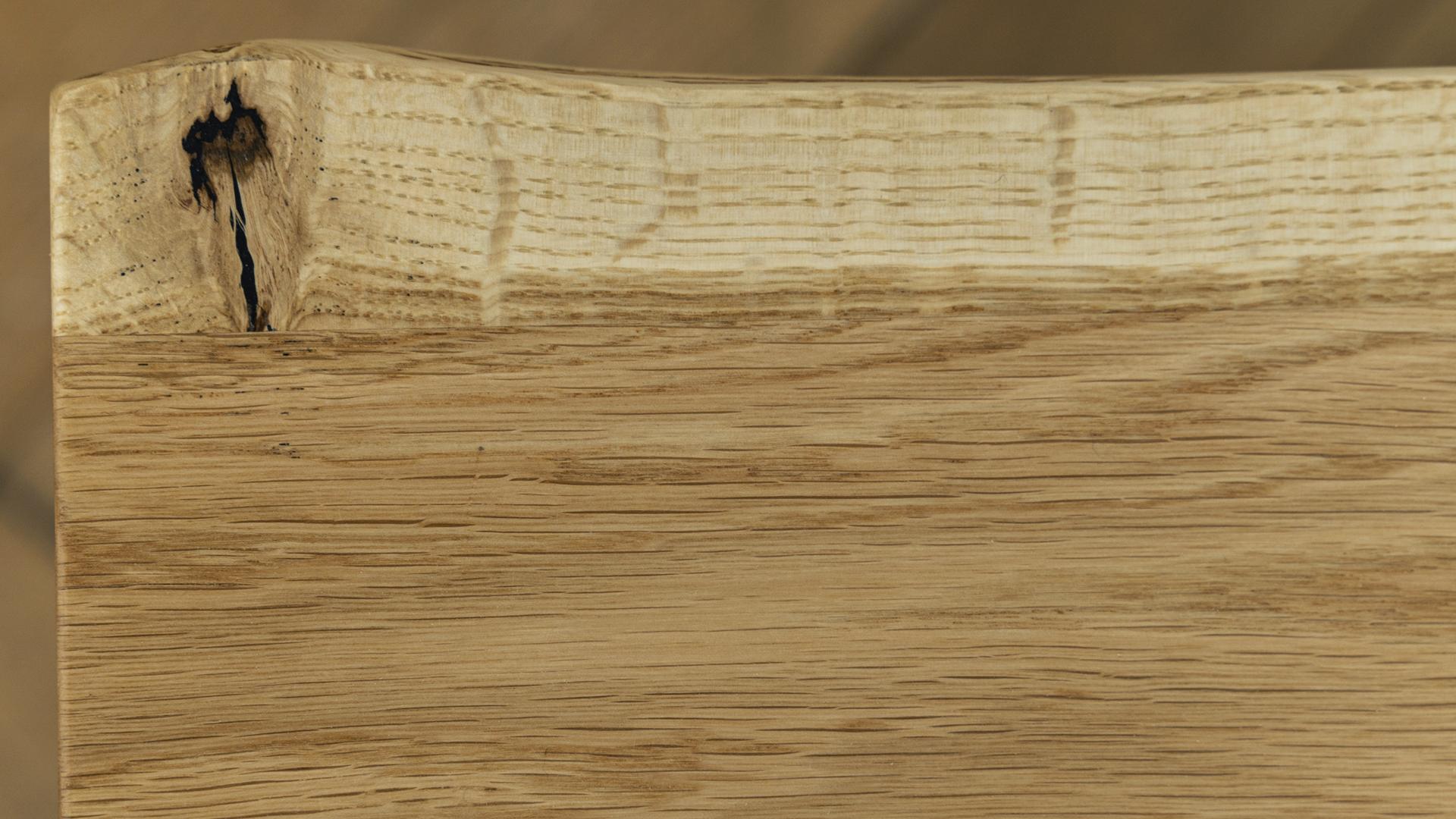 Stolik kawowy blat z litego drewna