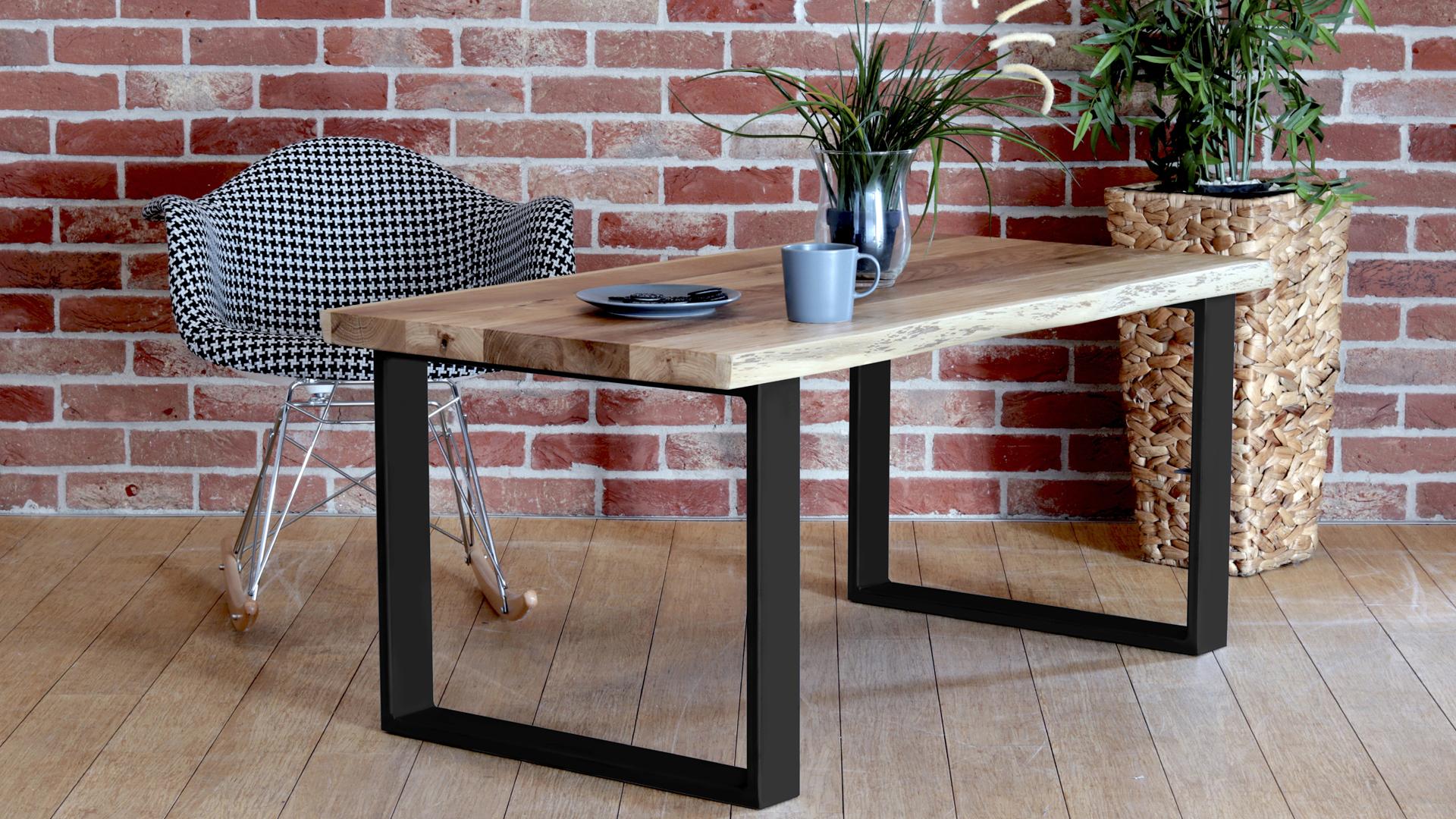 Stół kawowy kverko w kolorze czarnym