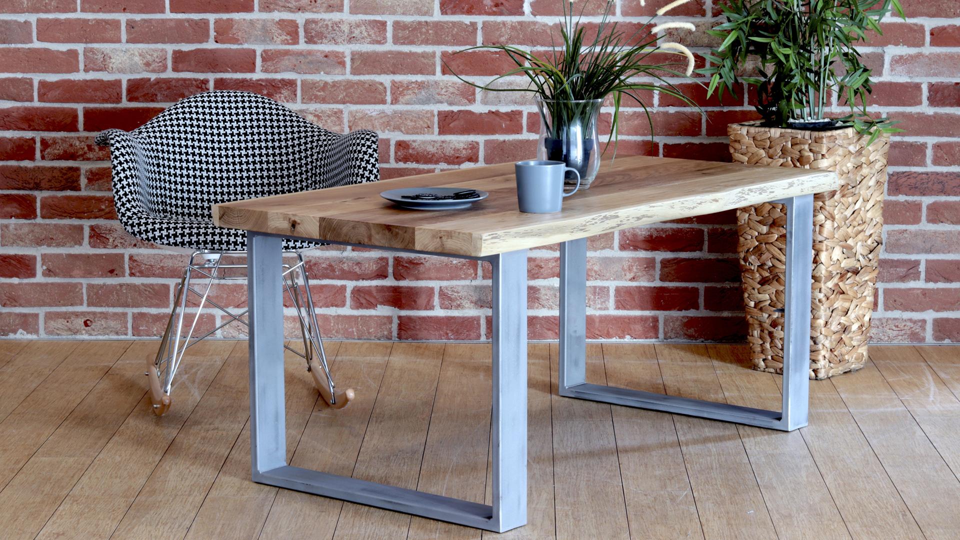 Stół kawowy kverko w kolorze szarym