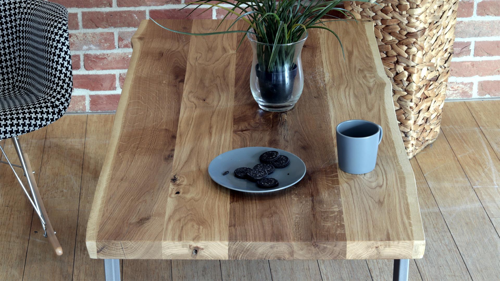 Stół industrialny kawowy