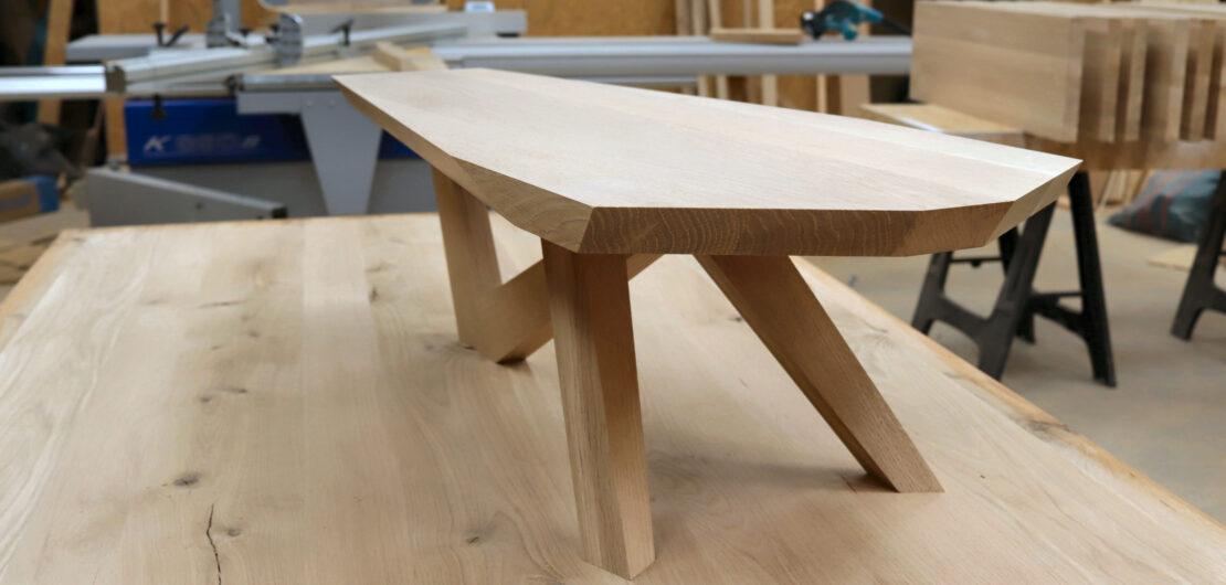 Argo Woodcraft loftowy stolik kawowy