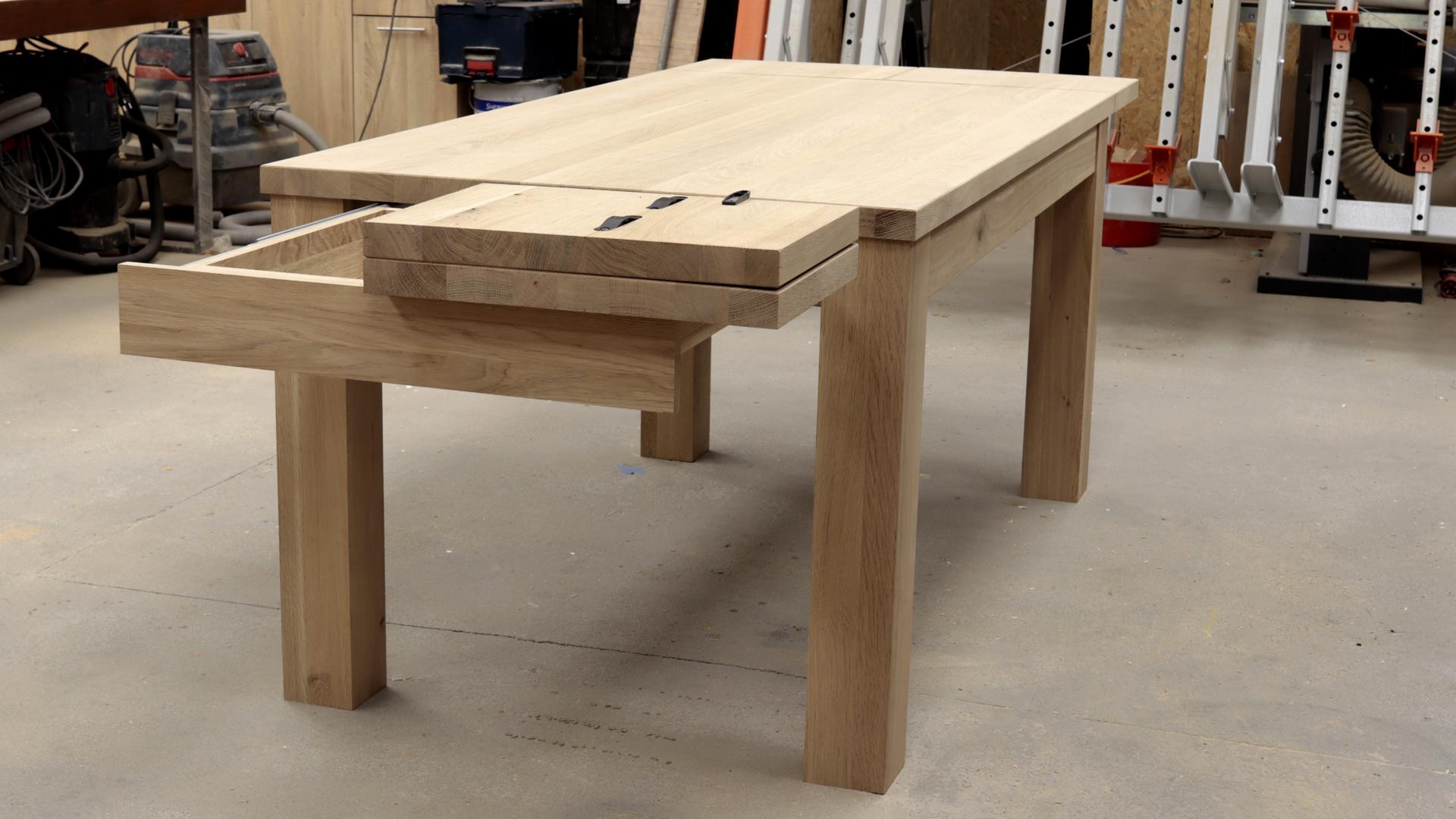 System rozkładania stołu