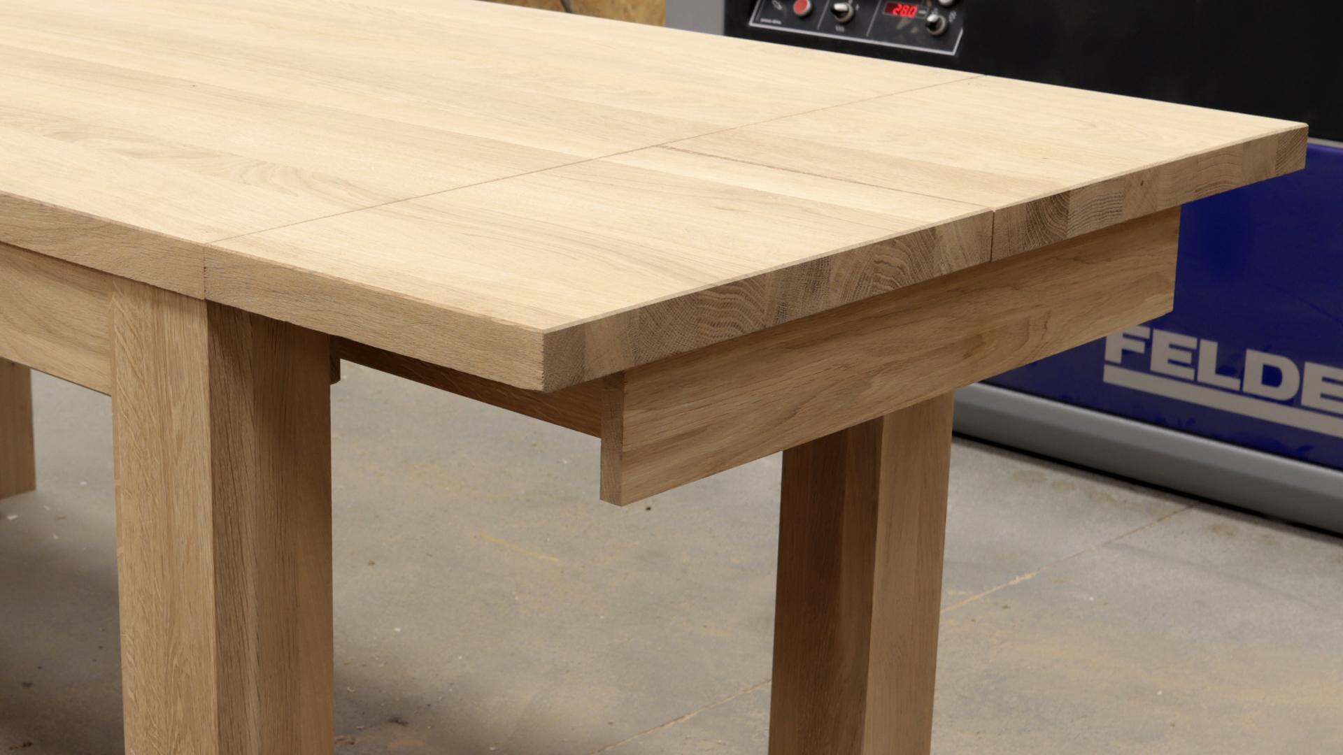 drewniany stół lity od producenta